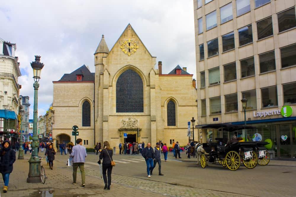 Aziz Nikolas Kilisesi Brüksel