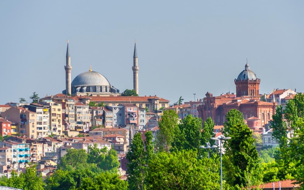 Yavuz Selim Camii Avlusu