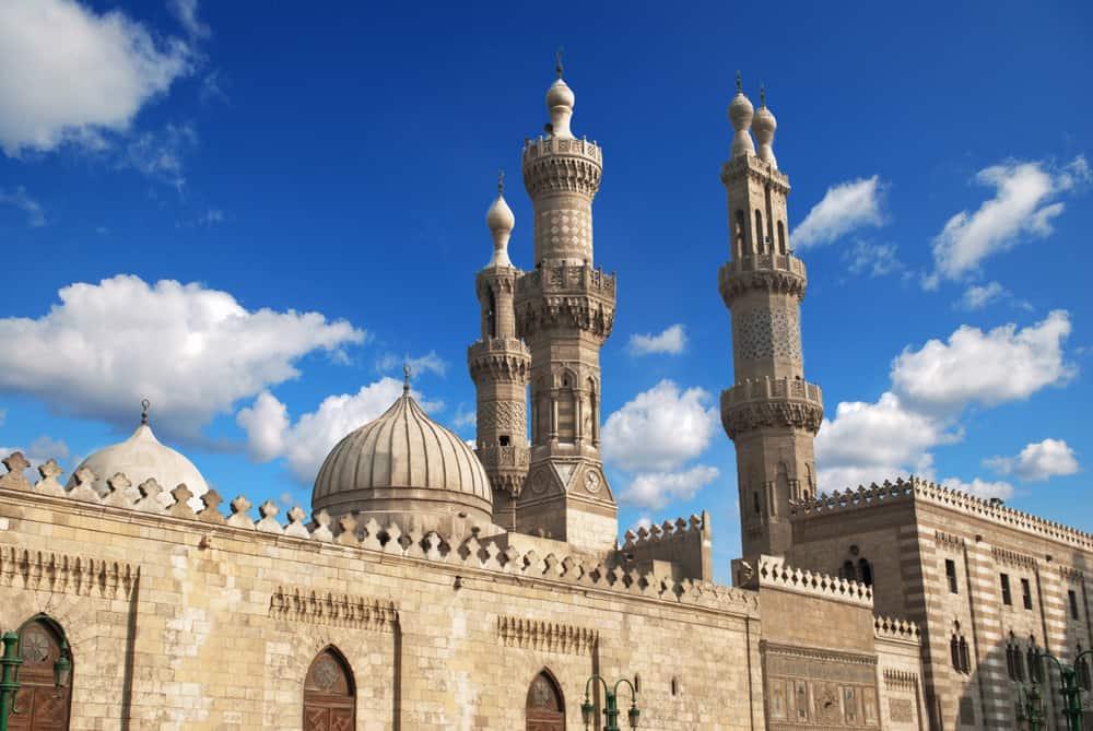 El-Ezher Camii Mısır Kahire