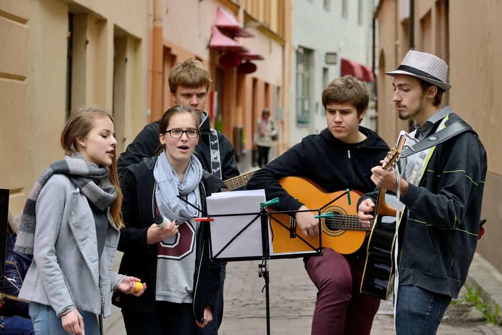 Sokak Müzisyenleri Festivali Vilnius