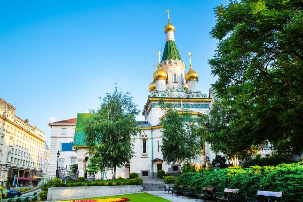 Sveti Nikolay Mirlikiyski Rus Kilisesi Sofya
