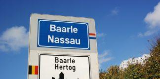 Hollanda - Belçika Sınırı Baarle