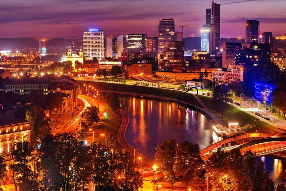 Vilnius'ta Gece Hayatı