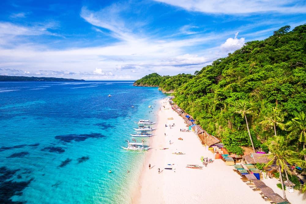 Boracay Adası, Filipinler