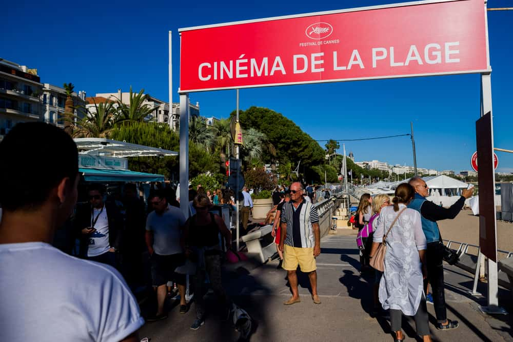 The Cinema de la Plage Cannes