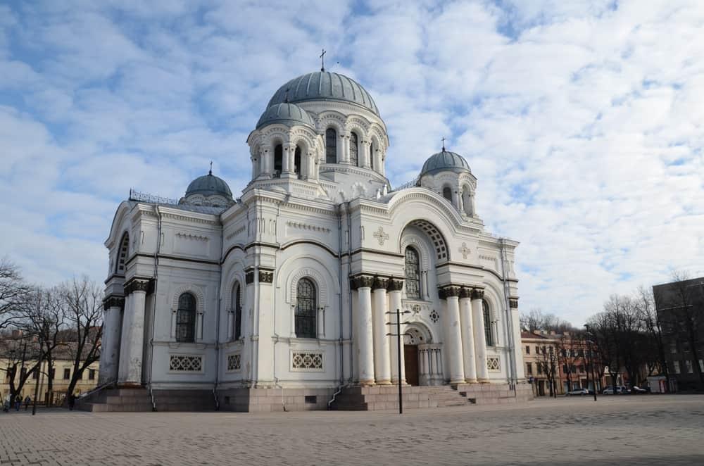 St. Michael Başmelek Kilisesi Kaunasi, Litvanya