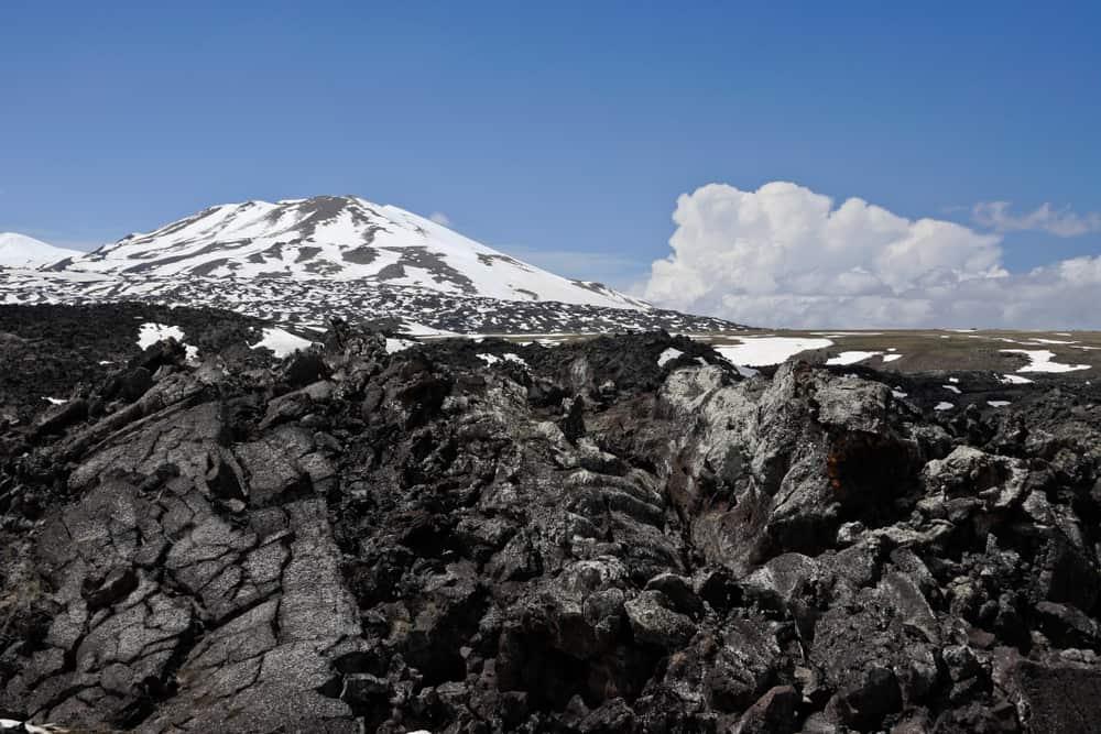 Tendürek Dağı Lav Akıntıları Ağrı