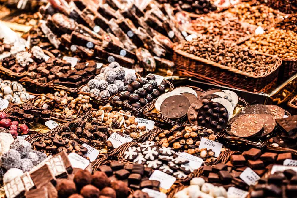 Barcelona, İspanya Çikolata