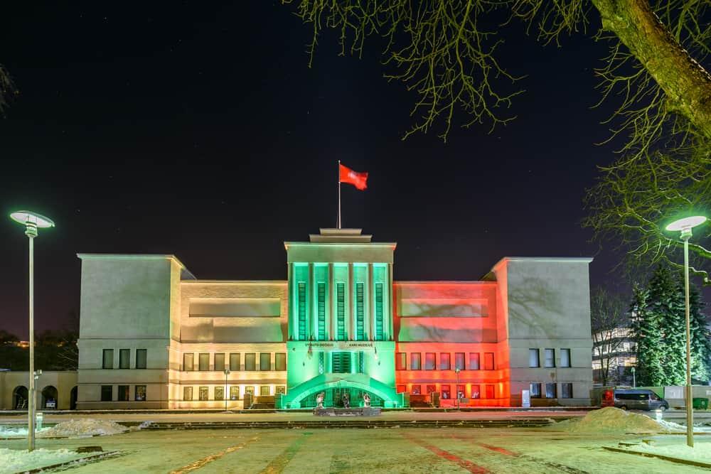 Vytautas Büyük Savaş Müzesi Kaunas, Litvanya