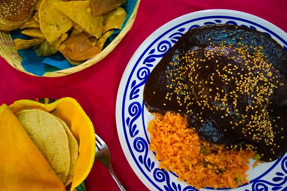 Oaxaca, Meksika Çikolata