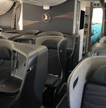 THY Dreamliner Uçağı