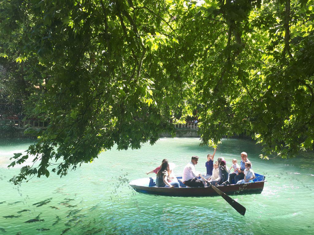 Aynzeliha Gölü, Urfa