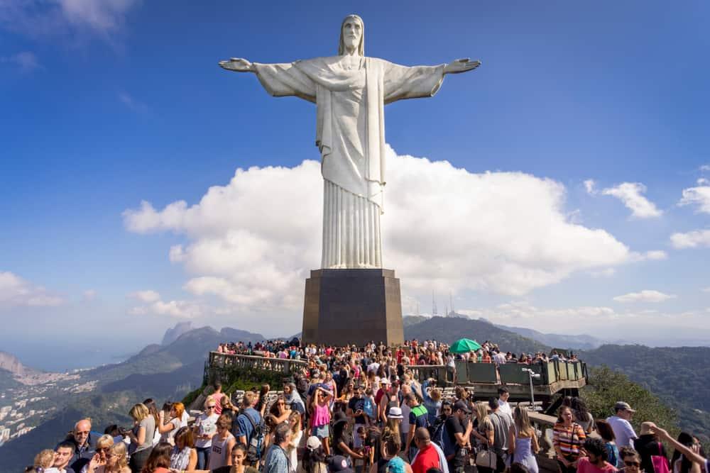 Kurtarıcı İsa Heykeli, Tijuca,Rio de Janeiro, Brezilya