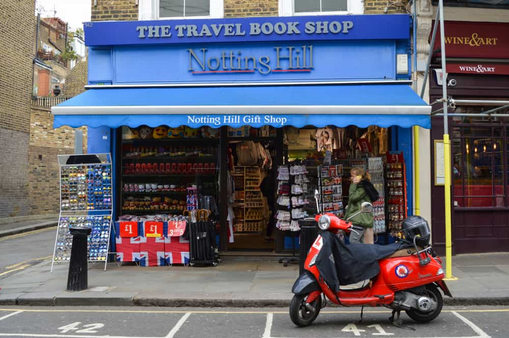 The Notting Hill Book Shop Ltd Londra
