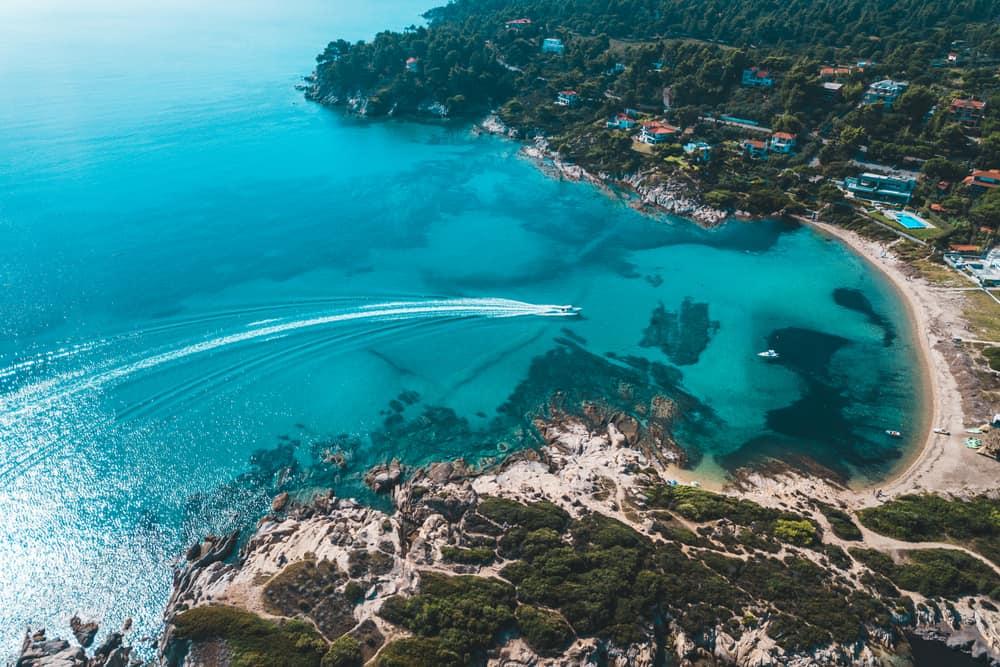 Halkidiki'nin Issız Adaları, Yunanistan