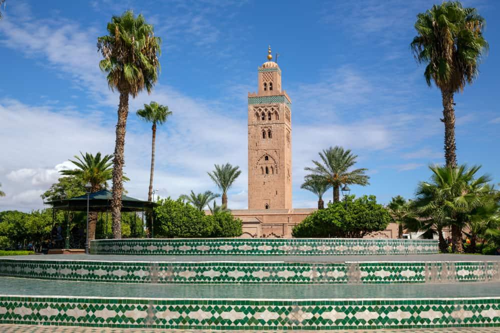 Kutubiye Camii Fas, Marakeş