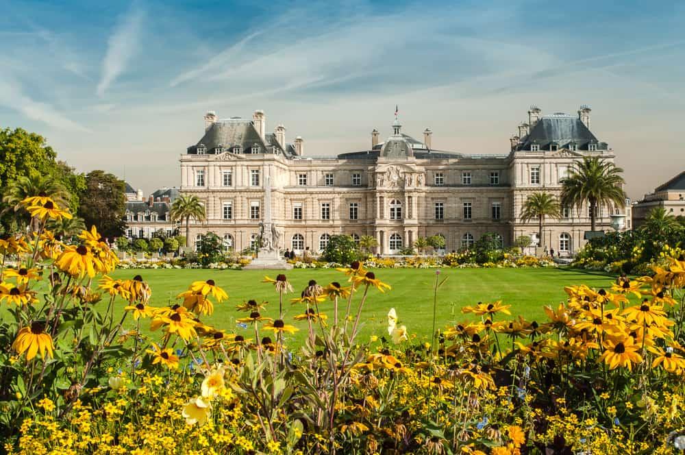 Lüksemburg Bahçesi, Paris, Fransa