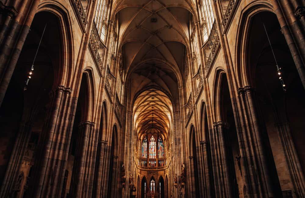 Westminster Abbey'de Şairler Köşesi. Londra, İngiltere