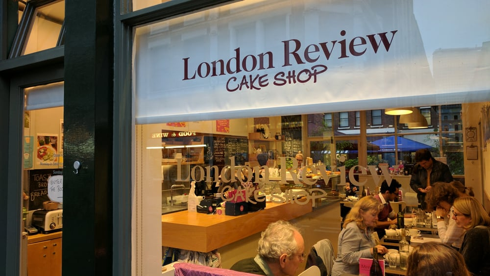 The London Review Cake Shop, Londra, İngiltere