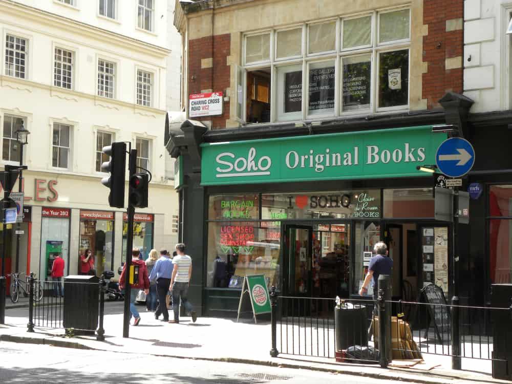 Charing Cross Yolu Kitapçıları, Londra, İngiltere