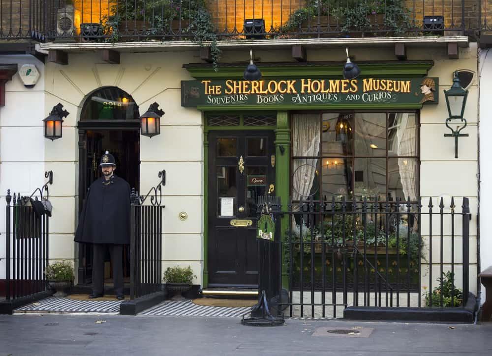 Sherlock Holmes İzinde Londra Turu ve Sherlock Holmes Müzesi. Londra, İngiltere