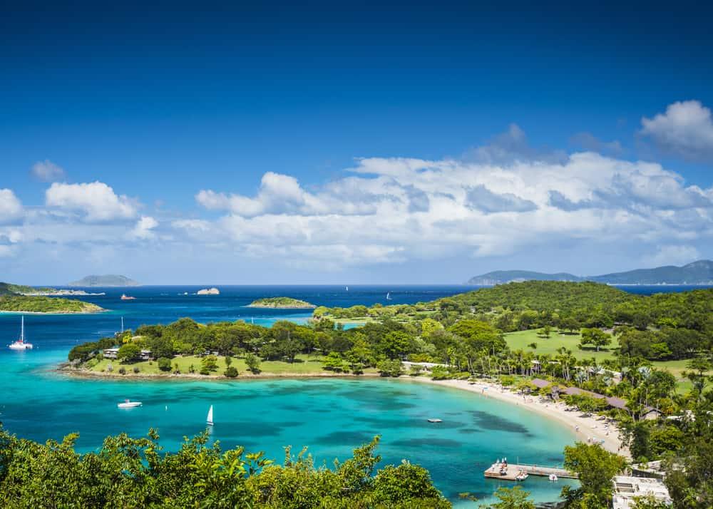 Caneel Bay, St. John, ABD Virgin Adaları