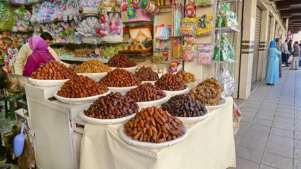 Marakeş'te Yeme İçme. Fas Baharatları