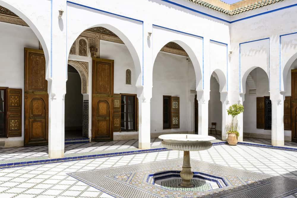 El Bahia Sarayı Marakeş, Fas