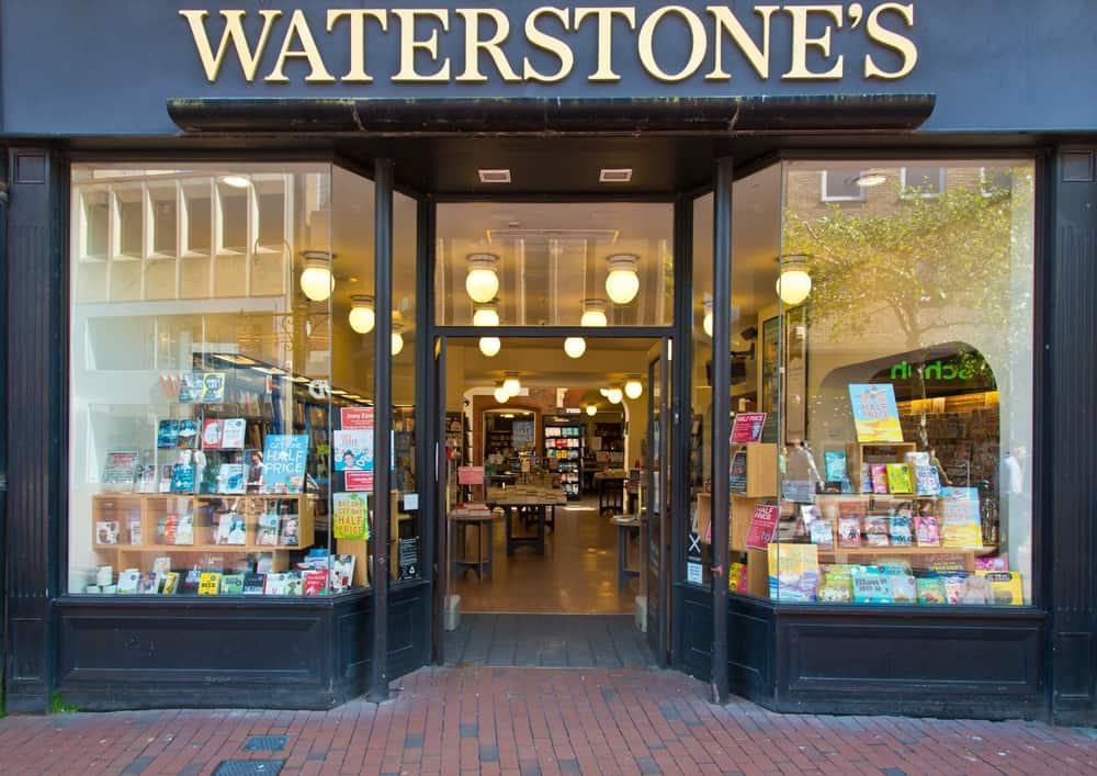 Waterstones Bookshop, Londra, İngiltere