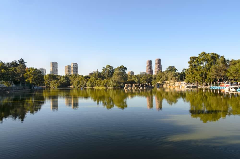 Chapultepec Parkı, Mexico City, Meksika