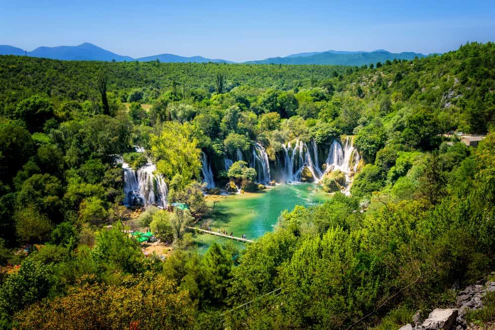 Kravice Şelaleleri - Trebižat Nehri, Bosna Hersek