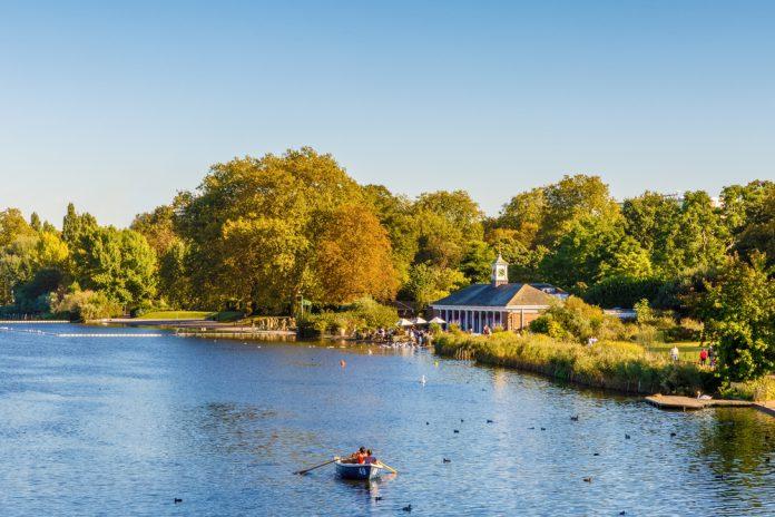 Hyde Park, Londra, İngiltere