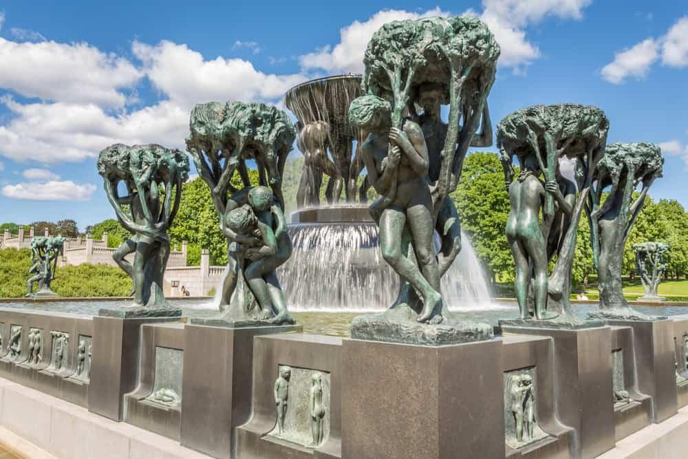Vigeland Park, Oslo, Norveç