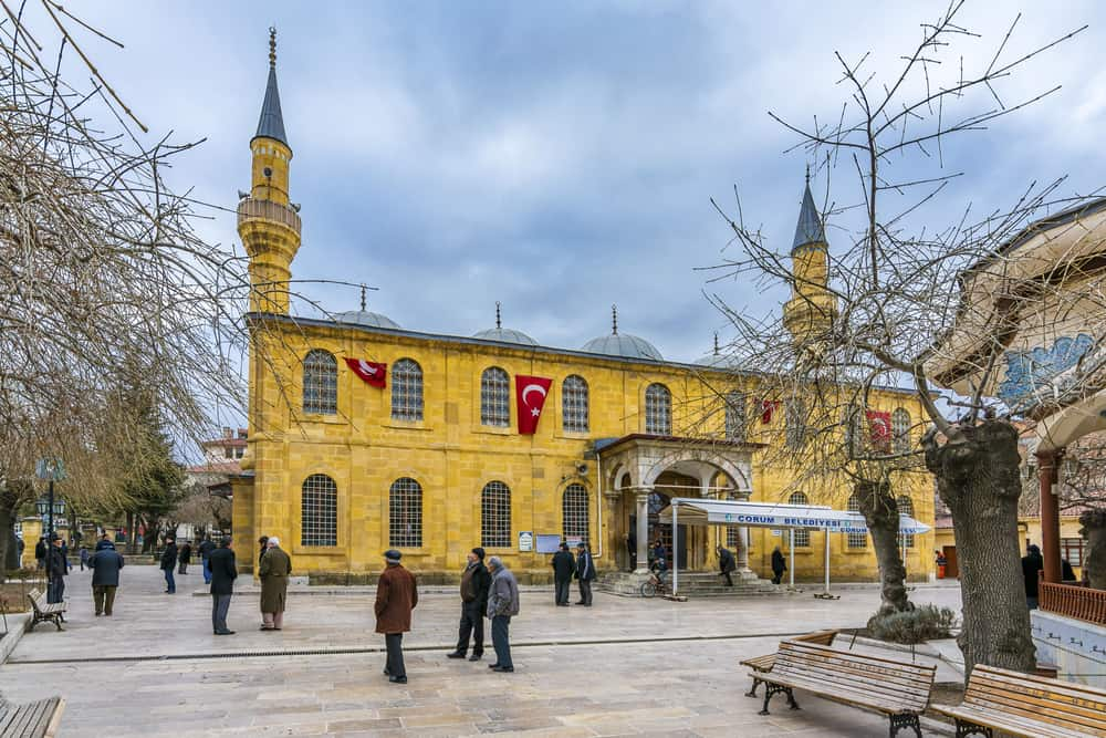 Ulucami (Murad-ı Rabi Camii) Çorum
