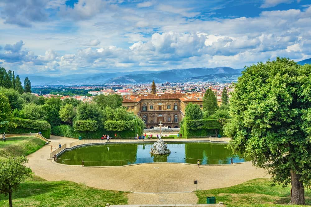 Boboli Bahçeleri, Floransa, İtalya