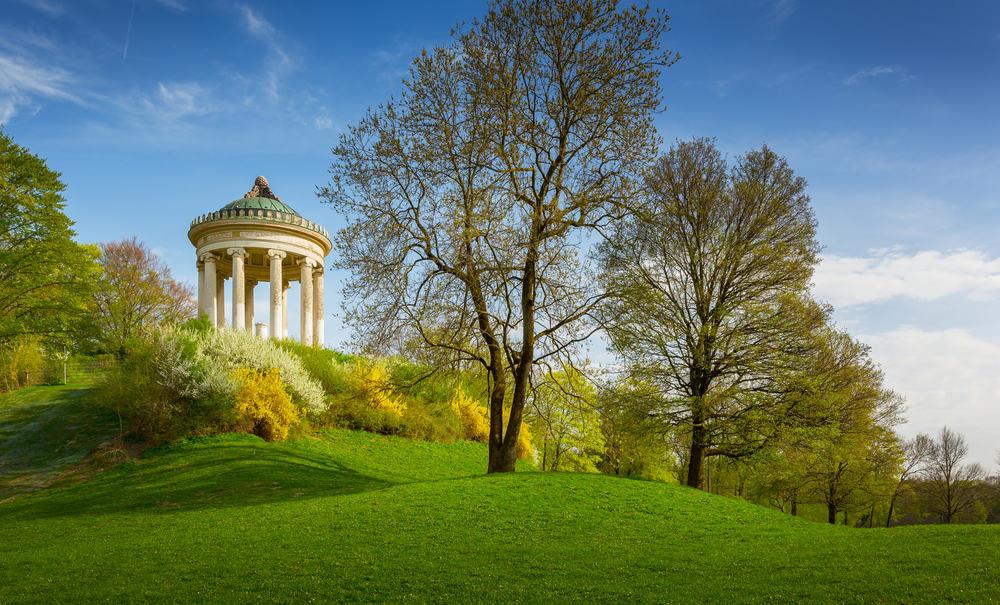 İngiliz Bahçesi, Münih, Almanya