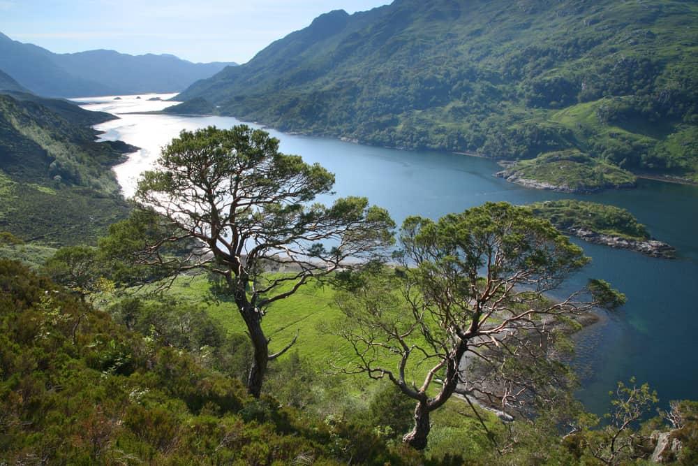 Loch Hourn, İskoçya Yaylaları