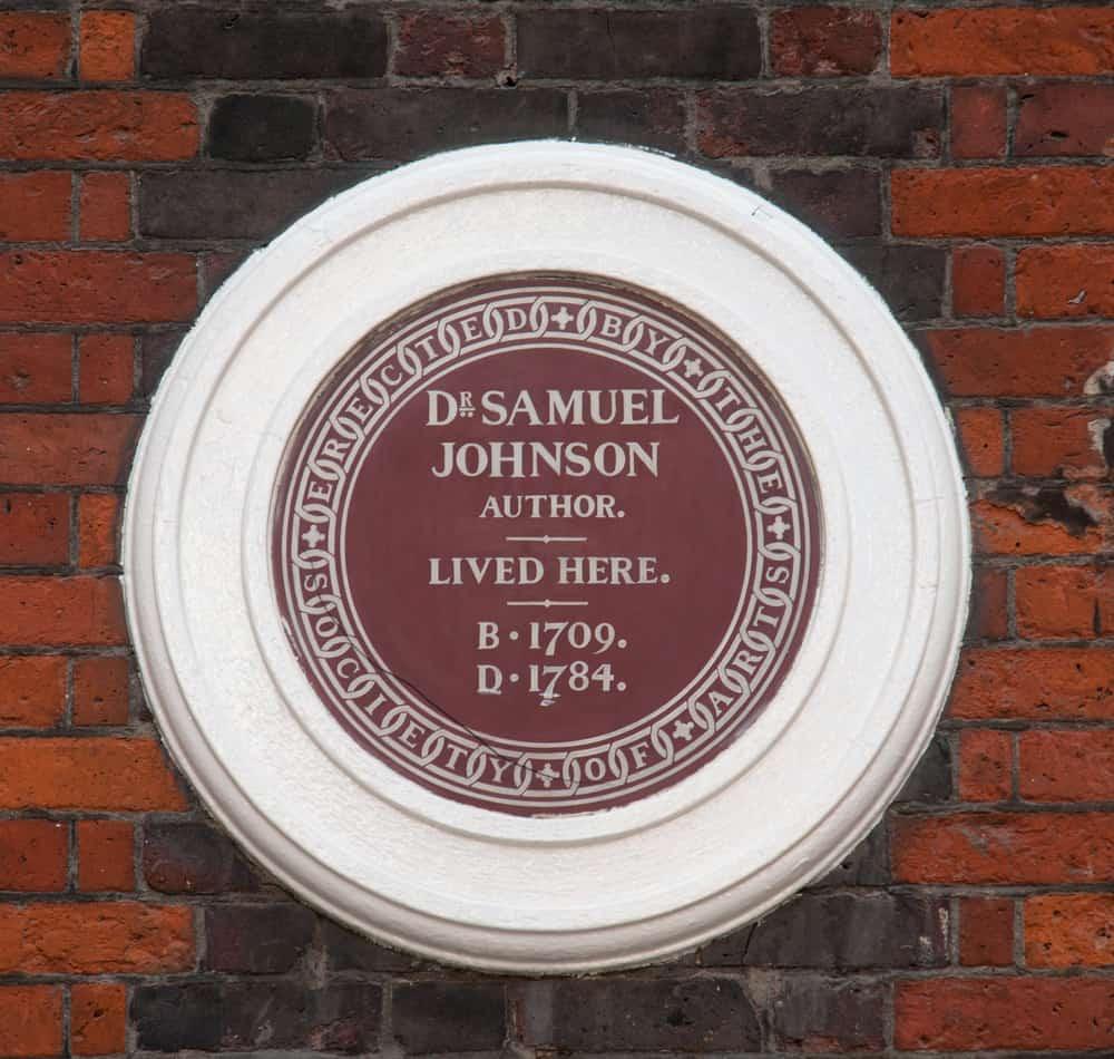 Doktor Johnson'ın Evi, Londra, İngiltere