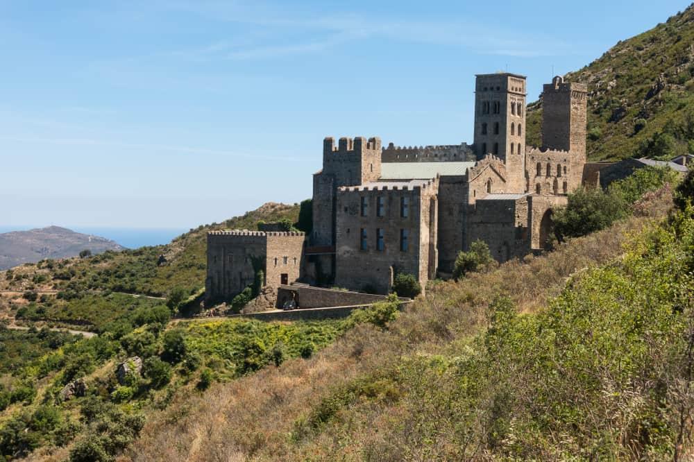 Katalonya Monestir de Santes Creus Manastırı