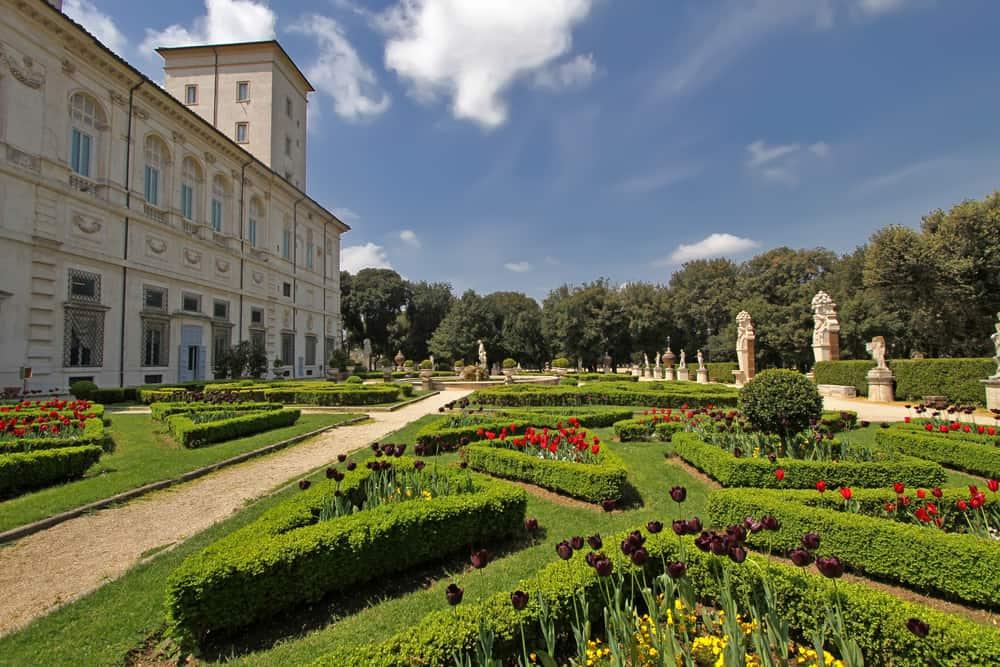 Villa Borghese, Roma, İtalya