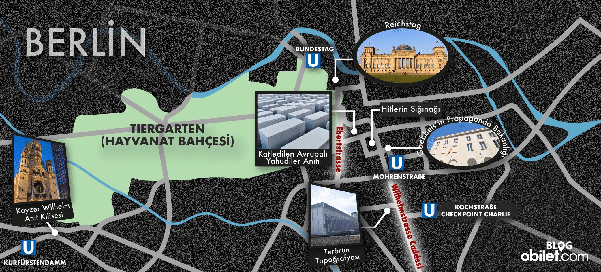 Berlin Harita II. Dünya Savaşı