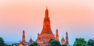 Wat Arun (Şafak Tapınağı) Bangkok, Tayland