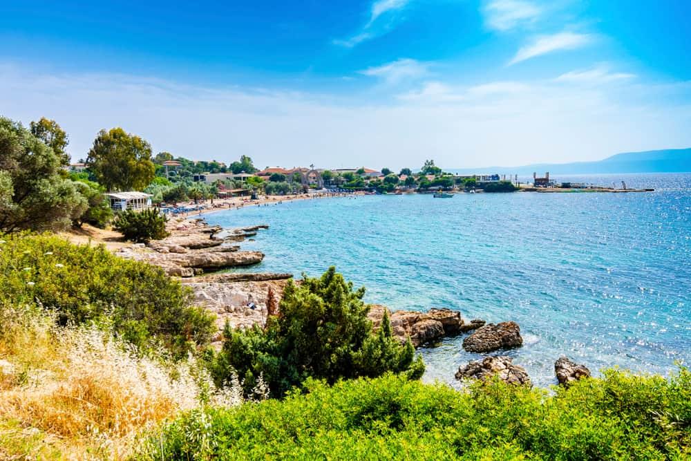 Büyük Akkum Plajı Sığacık İzmir