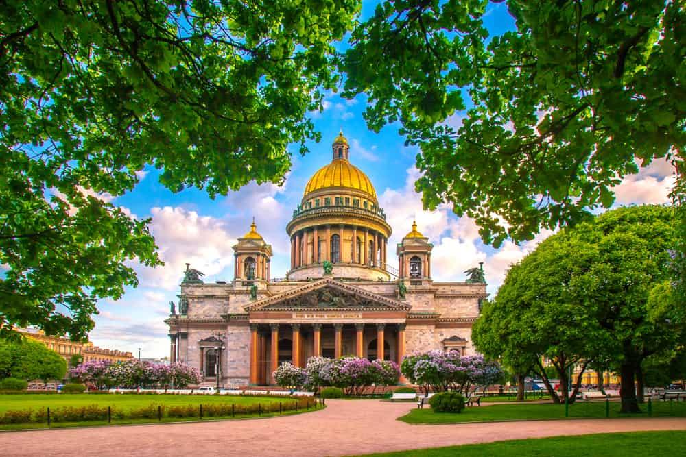 St Isaac Katedrali St. Petersburg Rusya