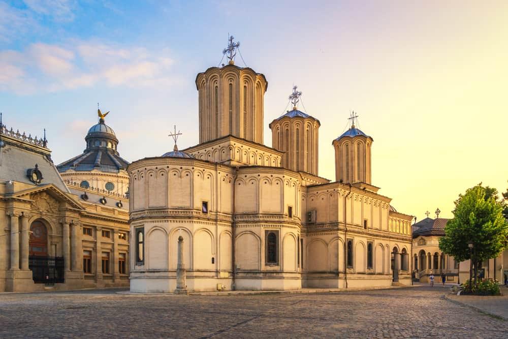 Rumen Patriklik Katedrali (Romanian Patriarchal Cathedral) Bükreş