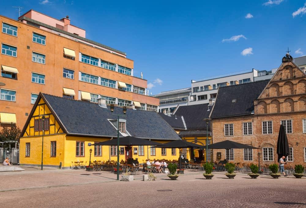 Kvadraturen Oslo Norveç