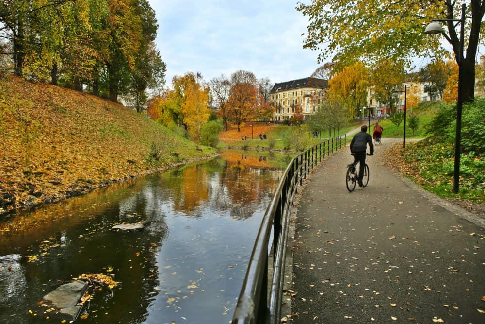 Akerselva Nehri Oslo Norveç