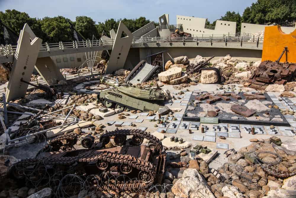 Tourist Landmark Of Resistance Beyrut