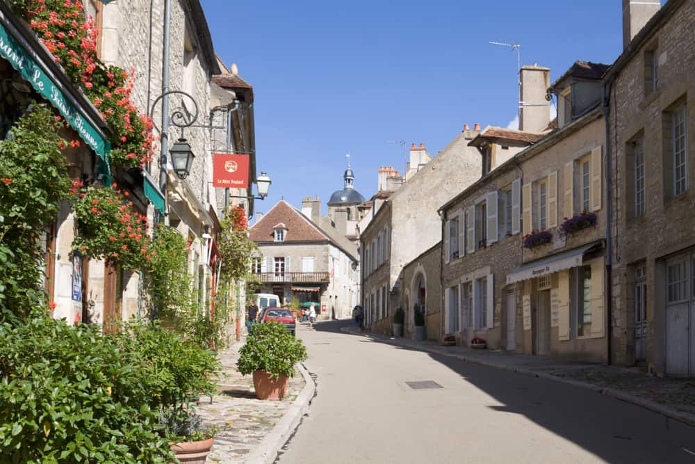 Vézelay Fransa