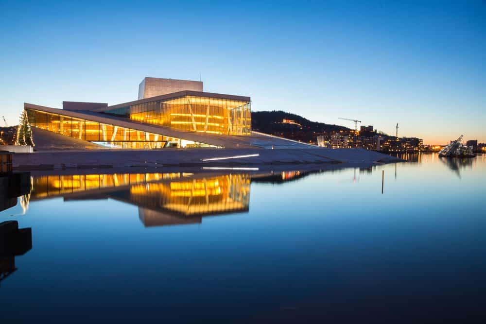 Norveç Ulusal Opera ve Bale Binası Oslo
